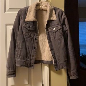 Billabong Corduroy/Wool Jacket